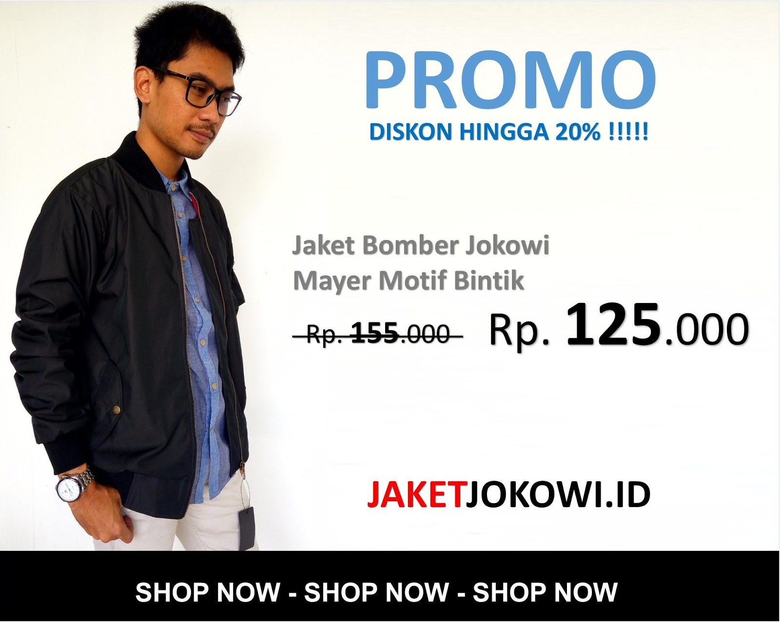 Jaket Bomber Jokowi Keren