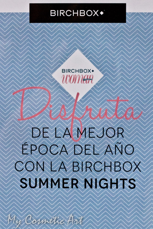 Summer Party de Birchbox en Madrid