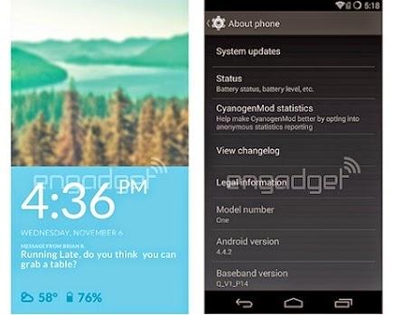 oneplus one cyanogenmod yazılımı
