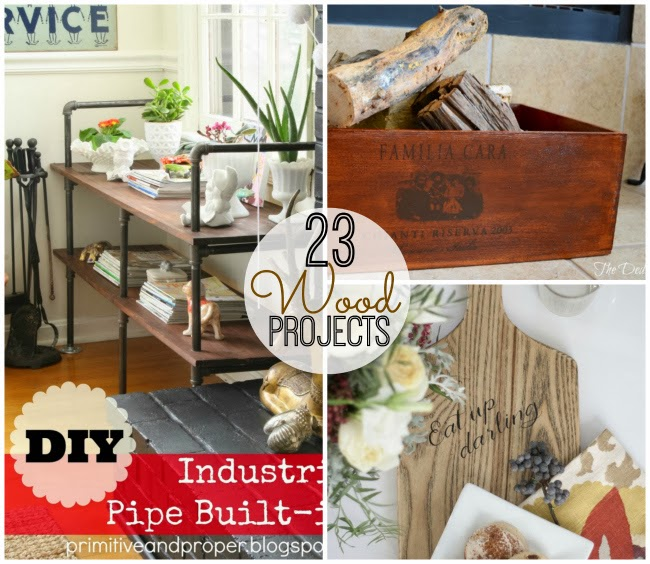 Amazing 23 DIY Wood Projects