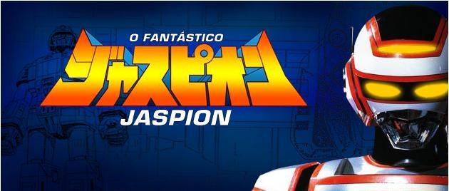 Jaspion, série de TV japonesa pertencente à franquia dos Metal Heroes.