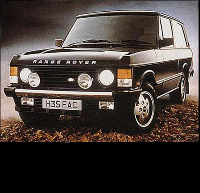 Range Rover Workshop Manual Model 1987