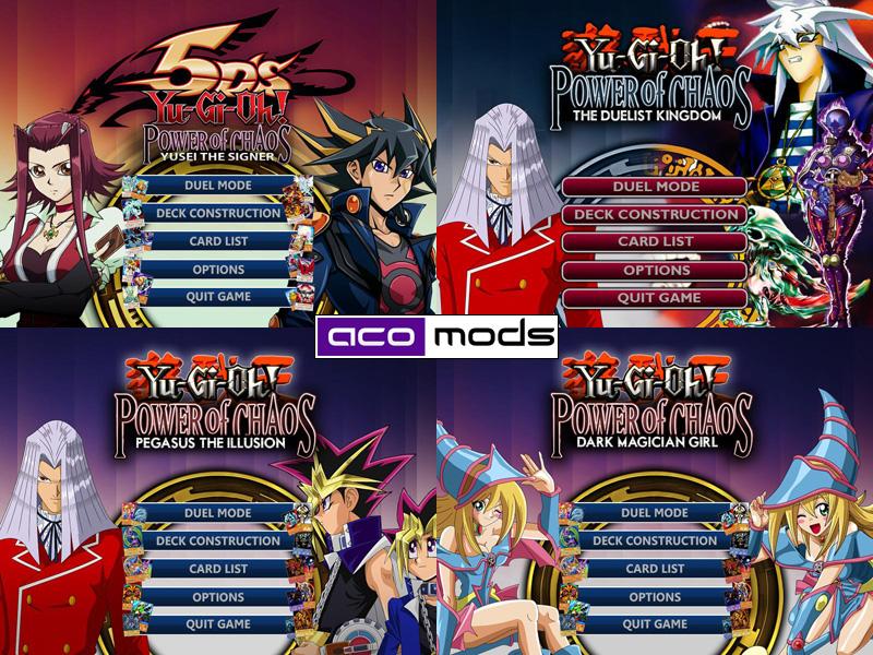 RistaR87's Yu-Gi-Oh! Mods: Yu-Gi-0h! GX - Power of Chaos Mod by ...