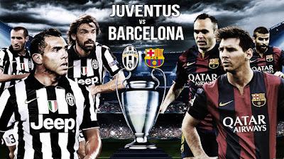 Prediksi Juventus vs Barcelona Hasil Nanti Malam Dini Hari Final Liga Champion