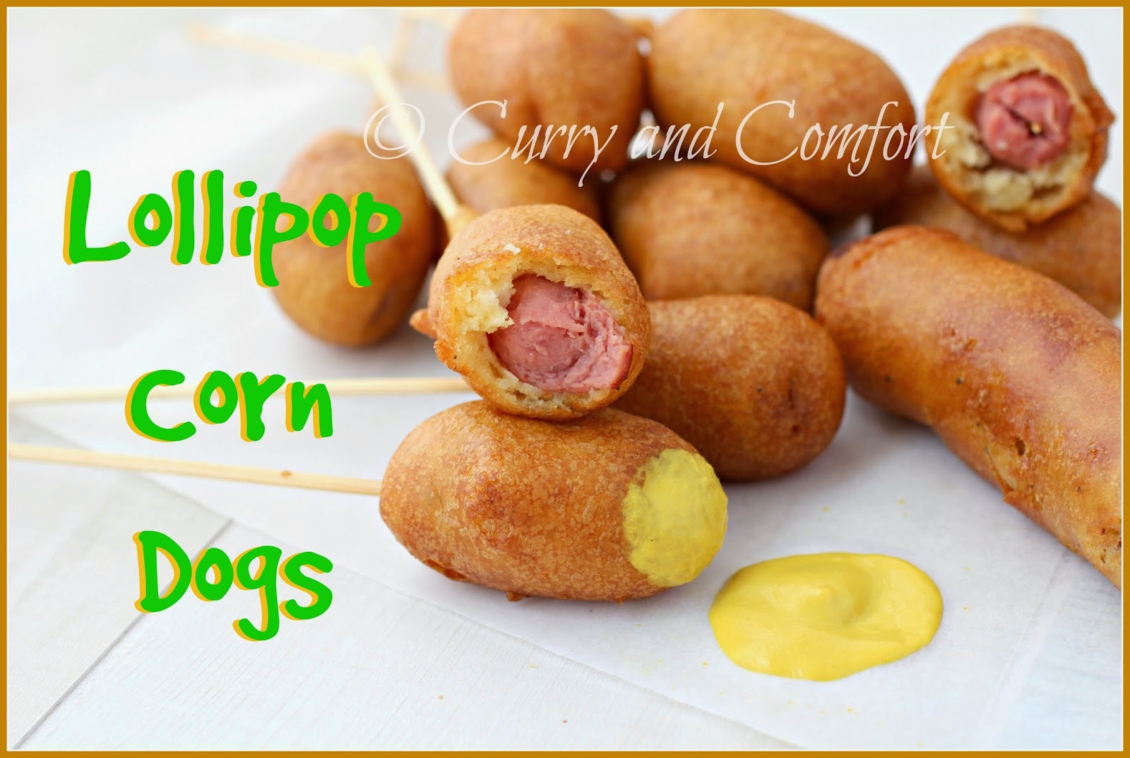 how to make homemade corn dogs with pancake mix