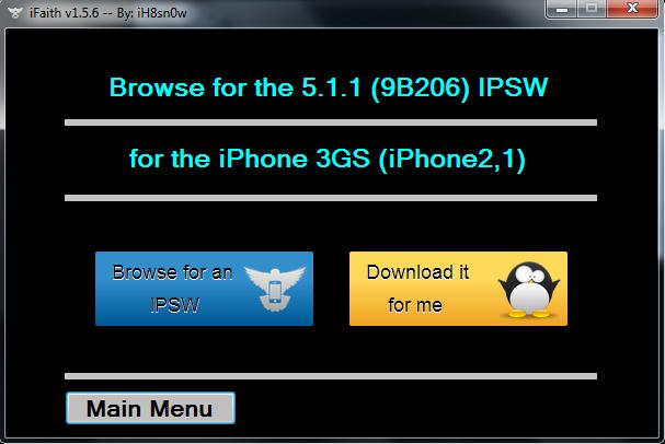 IPHONE: Cara Downgrade iOS 6.1.3 ke iOS 5.1.1 Menggunakan iFaith
