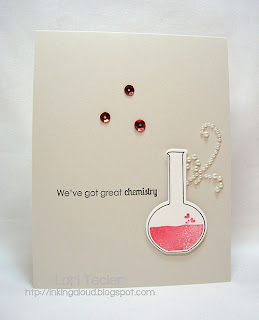 We've Got Great Chemistry-designed by Lori Tecler-Inking Aloud-stamps and dies from Papertrey Ink