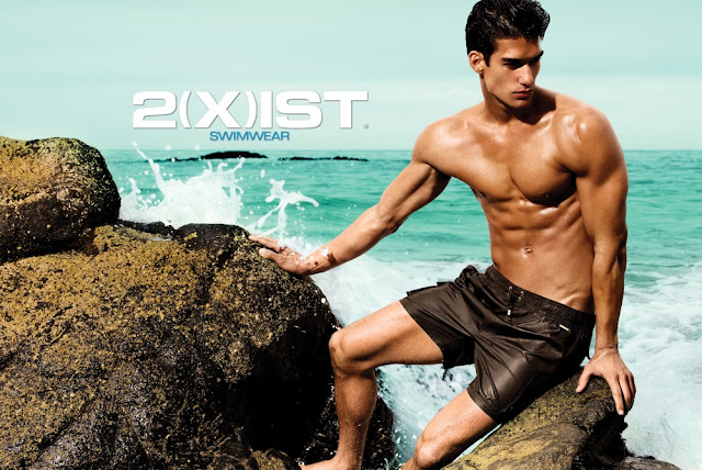 Kaylan Morgan for 2xist swimwear campaign 2013