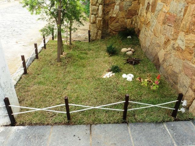 cerca para jardim branca : cerca para jardim branca:Doc Lagos e Jardins: Jardim faça você mesmo