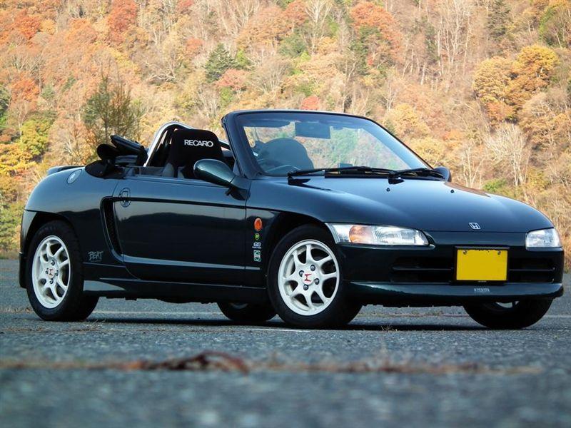 Honda Beat, kei car, japoński sportowy mały samochód, tuning, zdjęcia, 日本車, 軽自動車, チューニングカー, スポーツカー, ホンダ