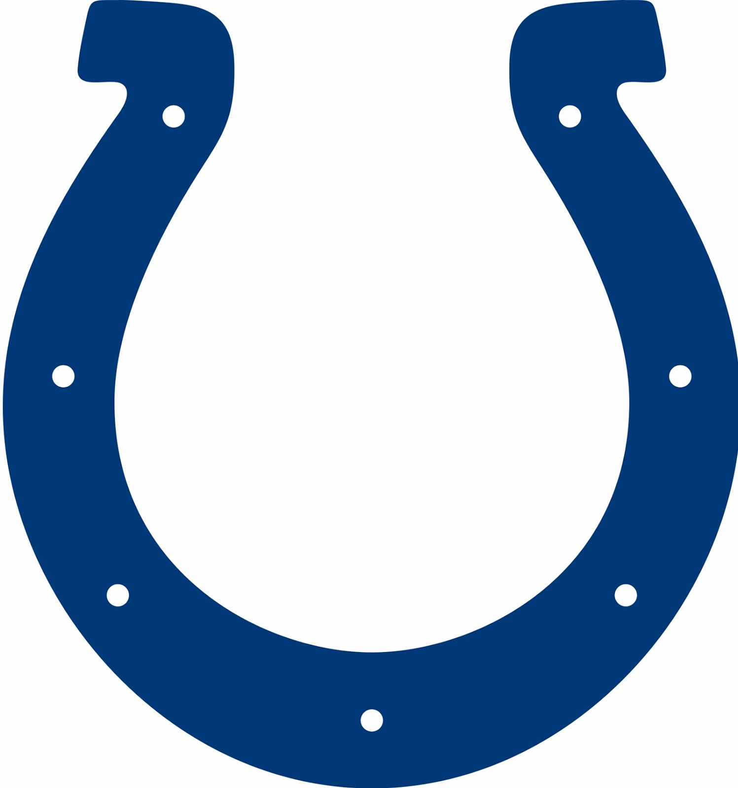 colts logo transparent indianapolis colts horseshoe images