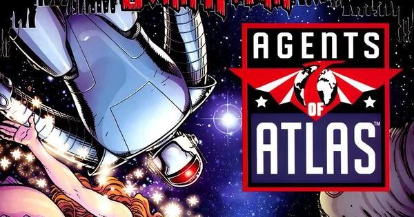Resultado de imagem para agentes da atlas vol 1