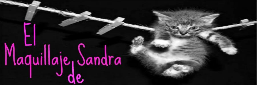 El maquillaje de Sandra