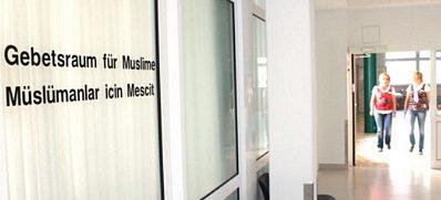 Gebetsraum für Muslime