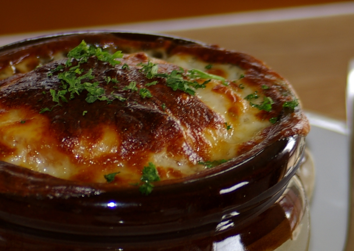 Tipped Mixology: Six Months in a Sautoir: French Onion Soup