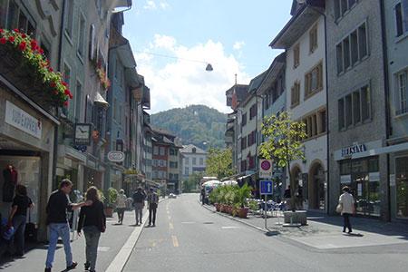 街中の風景