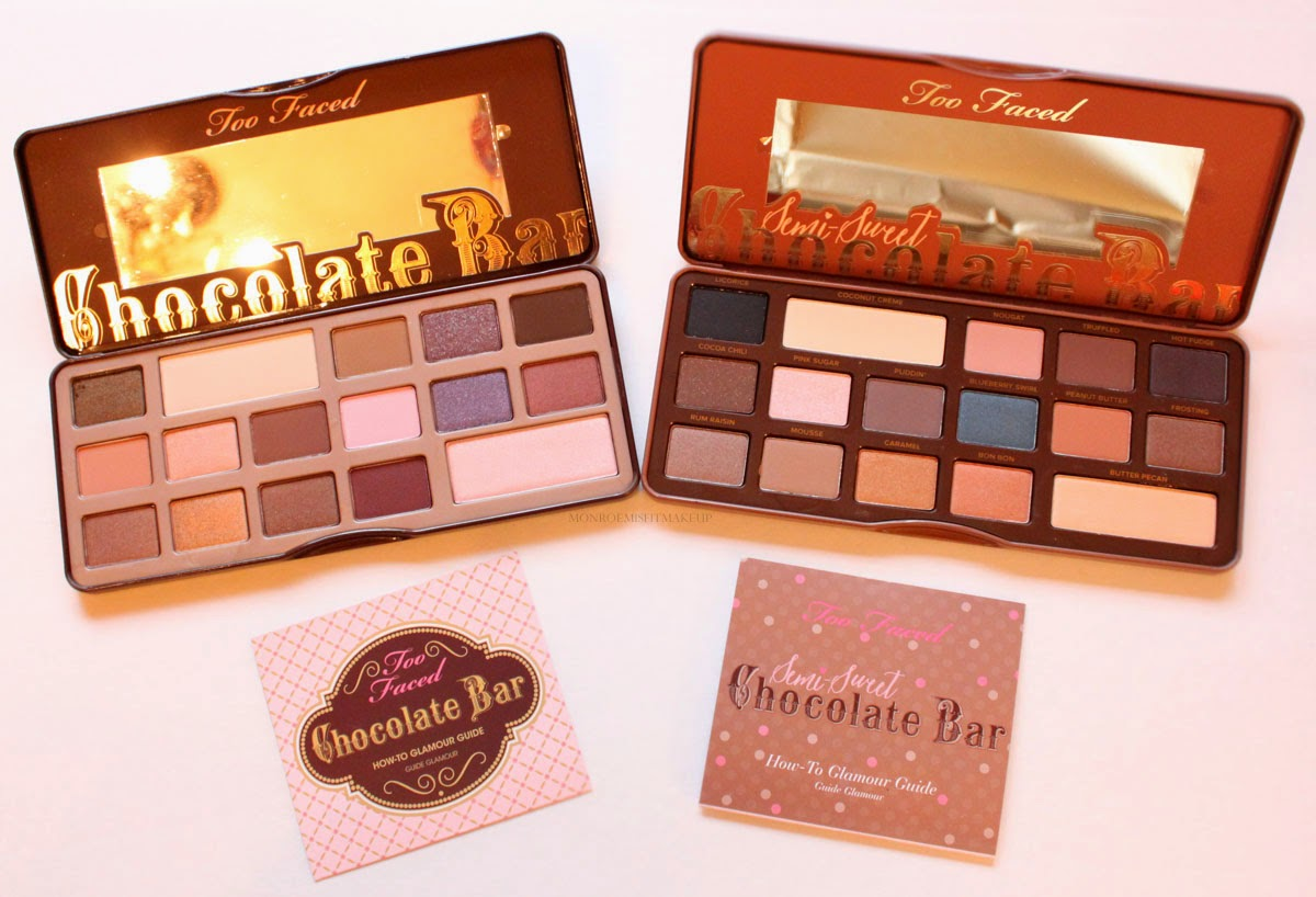 Too Faced Semi-Sweet Chocolate Bar Eyeshadow Palette Review : chocolate box palette - Aboutintivar.Com