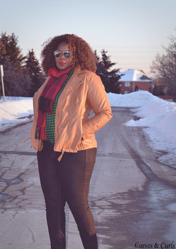 how to wear plaid on plaid plus size style for women