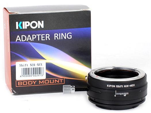 sony nex nikon shift lens adapter