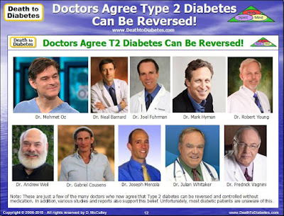 Doctors Agree Type 2 Diabetes Can Be Reversed
