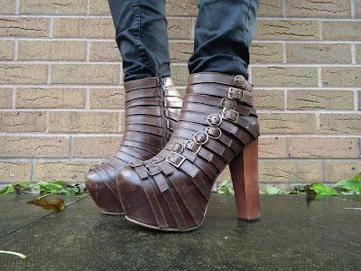 Sammi Jackson - Jeffrey Campbell Wrecker Boots