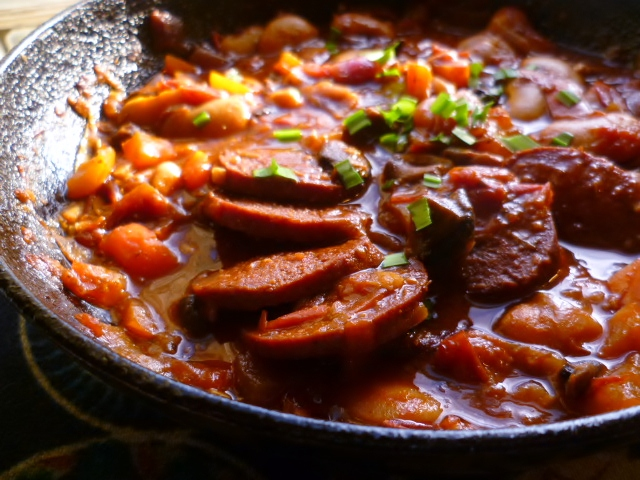 Marmaduke Scarlet: spicy butter bean and tomato stew with turkish ...