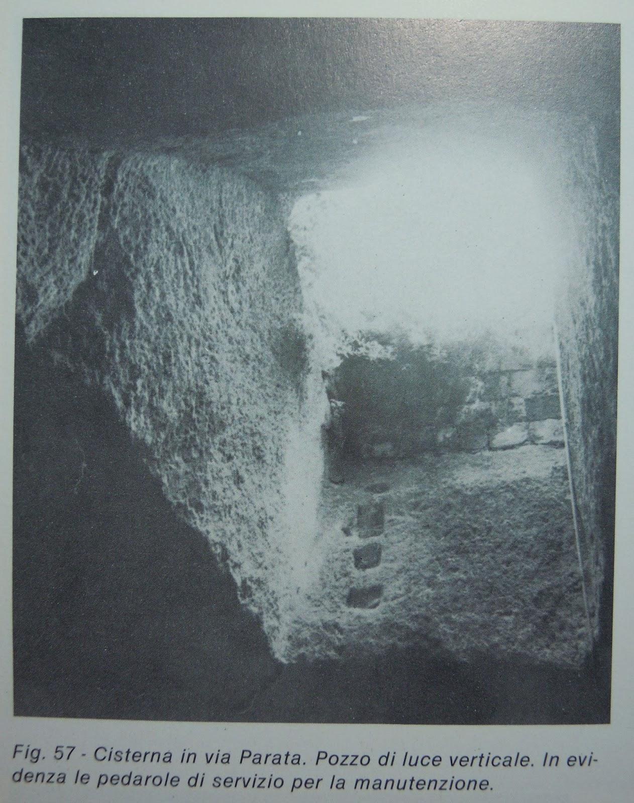 Frammenti di ponza la cisterna di via parata o del bagno all 39 isola di ponza - La parata bagno vignoni ...