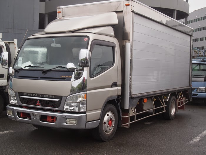 modifikasi truk mitsubishi canter