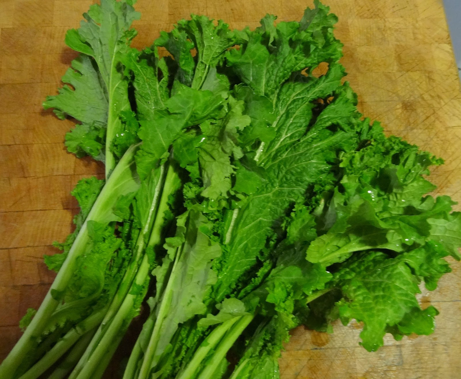 Cheers to Happy: Mustard Greens...
