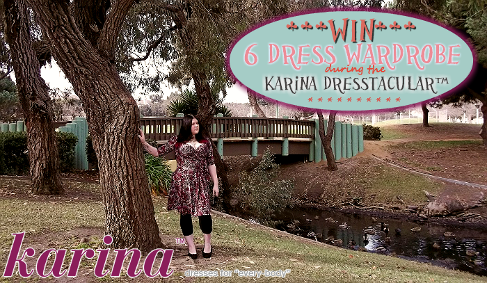 Karina Dresses Dresstacular™ Gala in Magenta Safari