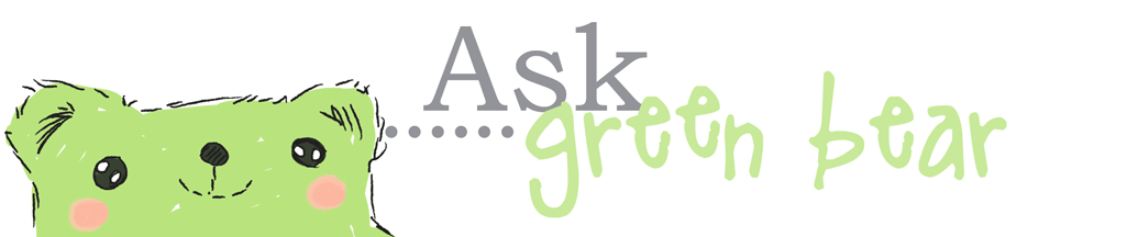 ask green bear