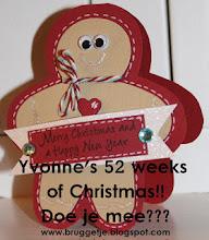 KERST Challenge bij Yvonne