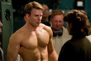 Chris Evans en Capitán América