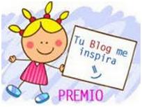 """Premio """"Tu blog me inspira!"""""""
