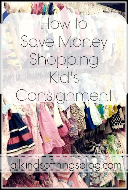 How to Save Money Shopping Kid's Consignment