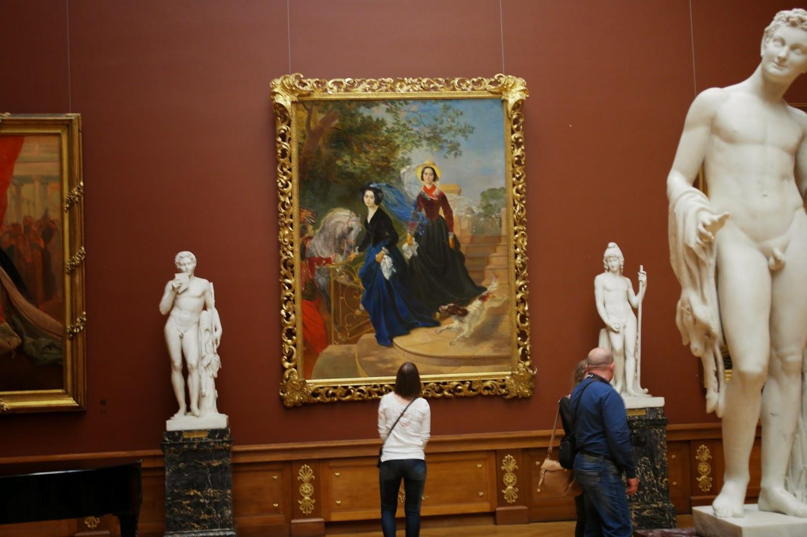 Сочинение по картине кп брюллова портрет сестер шишмаревых