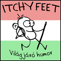 ITCHY FEET in Hungarian!