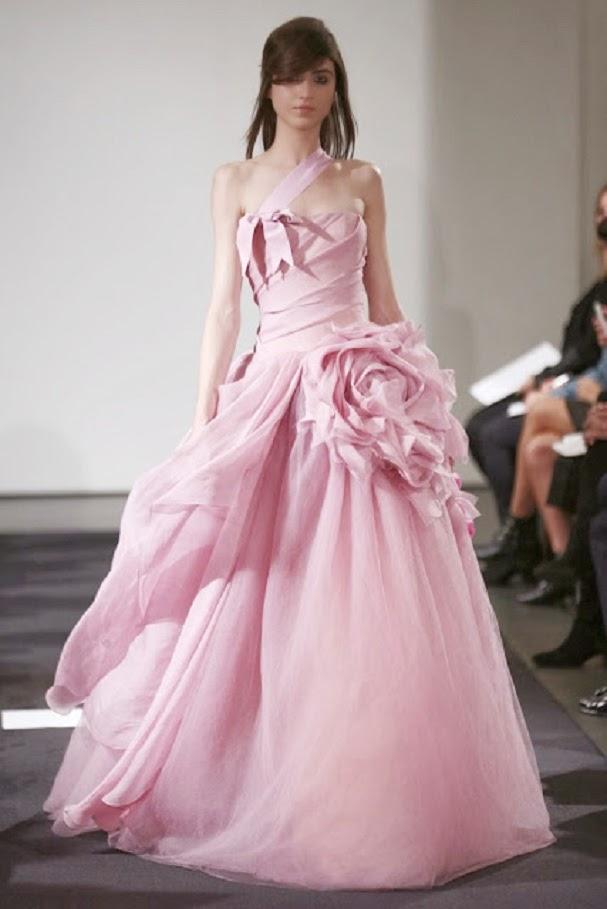 Mi boda en rosa: El rosa: el nuevo blanco de las novias