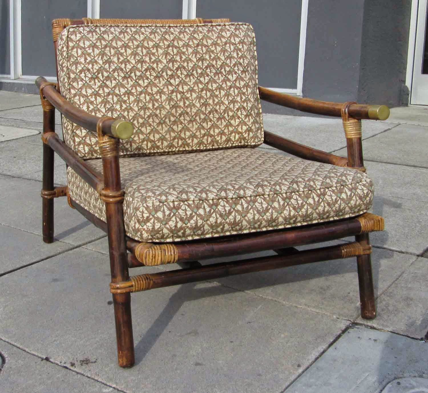 UHURU FURNITURE & COLLECTIBLES SOLD Mid Century Rattan