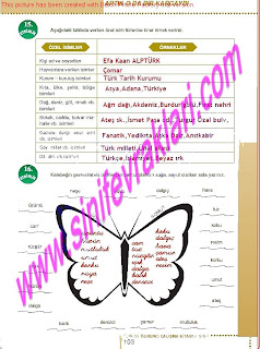 6.Sinif  Turkce Doku Yayinlari Ogrenci Calisma Kitabi Sayfa 103