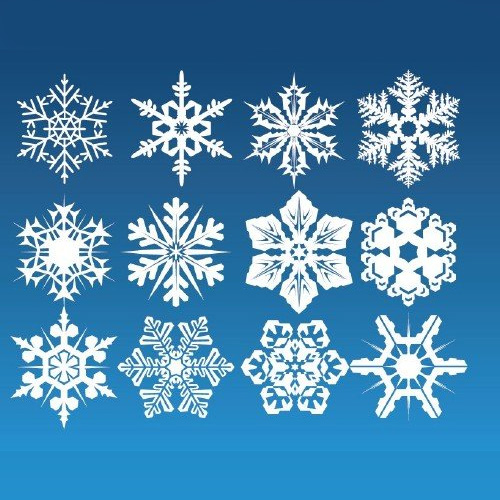 Marcela corrales resumen copos de nieve for Estrella de nieve