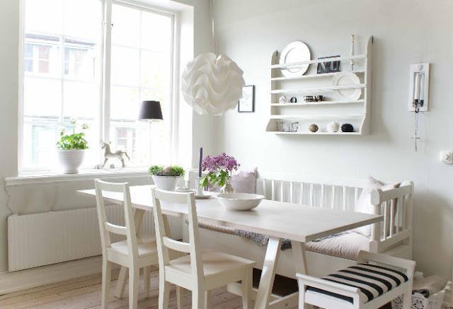 M nica castillo ideas para decorar el comedor for Comedores pequenos y bonitos