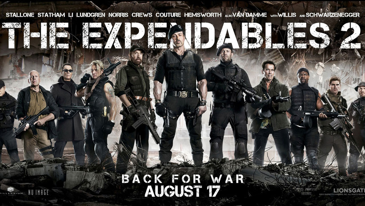 forthcoming movies the expendables 2 poster collection hd