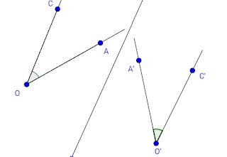 سلسلة كيف انشئ شكلا هندسيا؟ حلقة 9 انشاء صورة زاوية بتماثل محوري