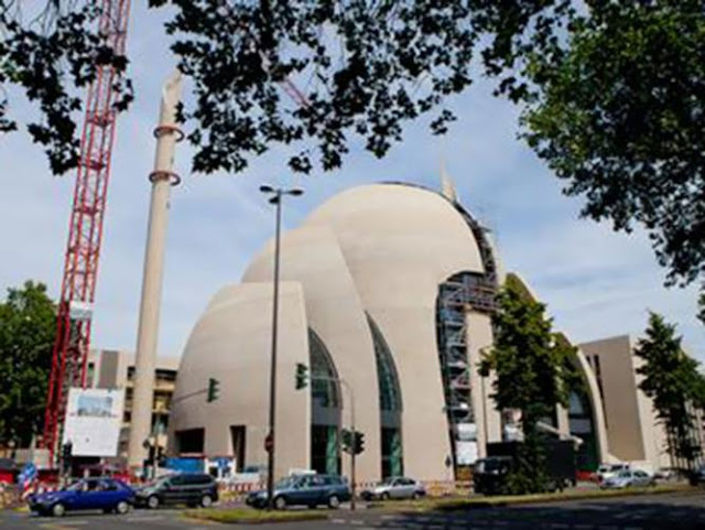 مسجد مدينة كولونيا, ألمانيا, أكبر مساجد ألمانيا,