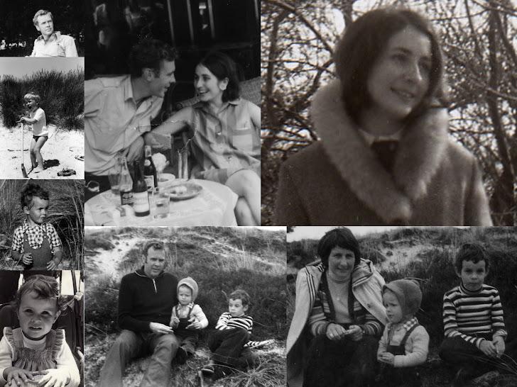 Onze gezin ,lang geleden .