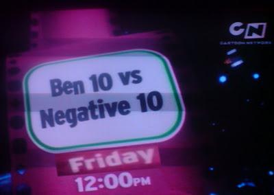 Ben 10 Vs Negative 10