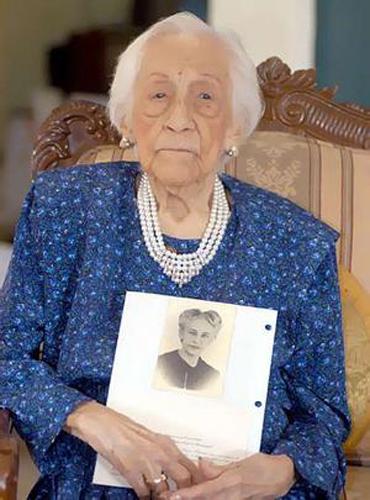 Maria Esther Heredia de Capovilla wanita tertua di dunia