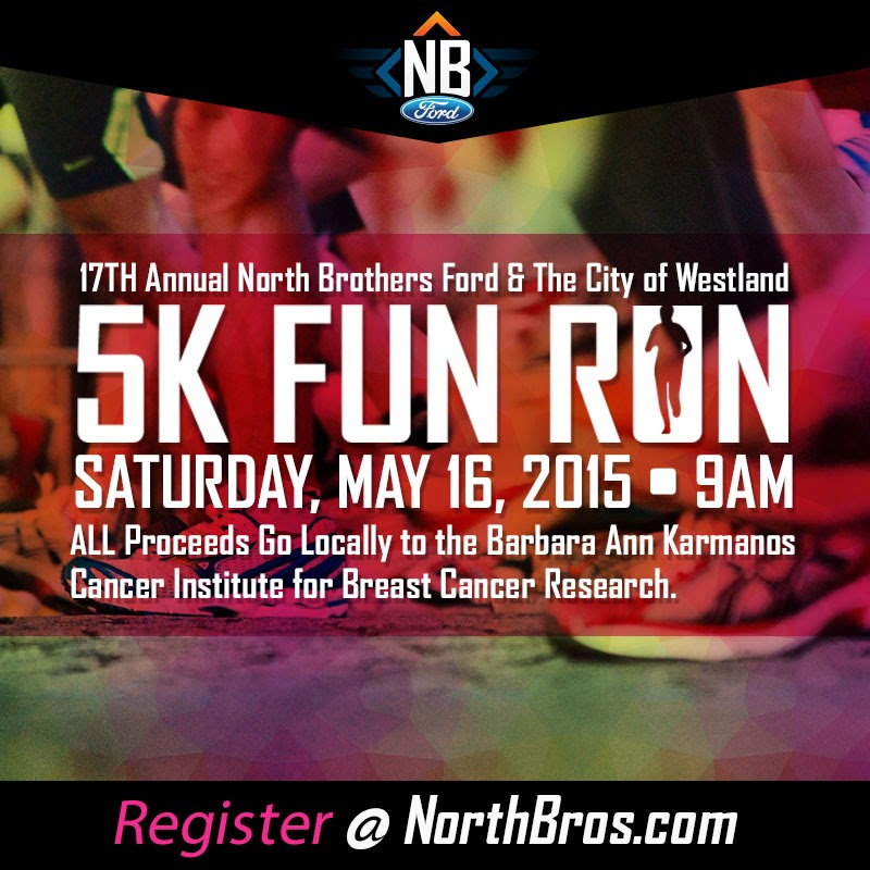 The 17th Annual North Brothers Ford And The City Of Westland 5K Fun Run/Walk