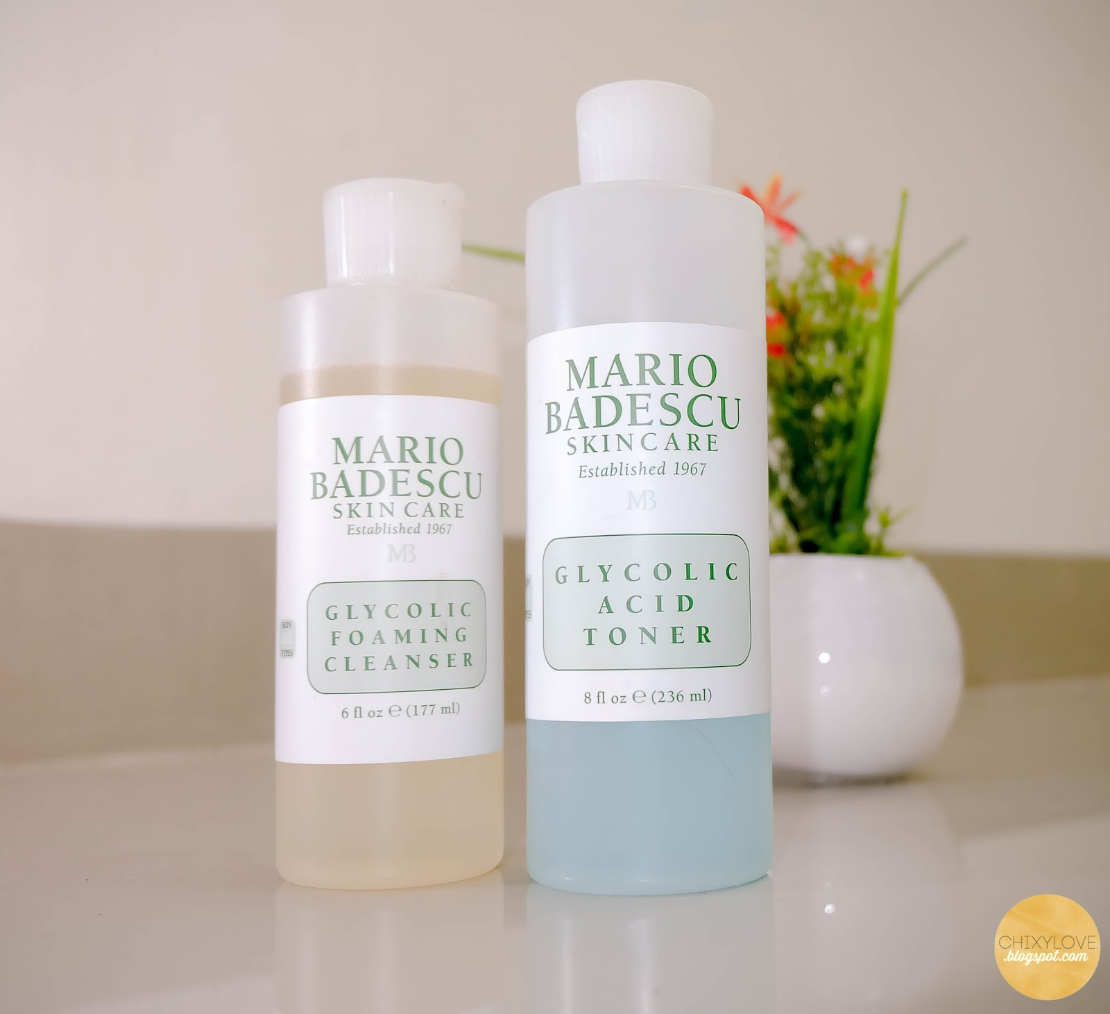 Mario badescu glycolic foaming wash
